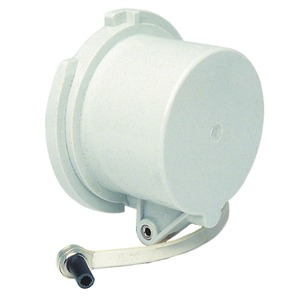 Protective cap 63A 5P IP67 for plugs and appliance inlets, with fixing set