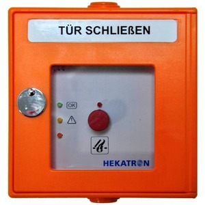 DKT 02 or, Handauslösung orange 24 V, 2 x 1 Wechsler