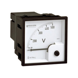 Analoges Voltmeter VLT, 72x72mm, 0..500 V